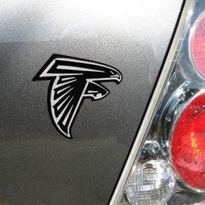 Atlanta Falcons Premium Metal Auto Emblem