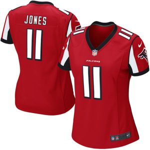 Women's Atlanta Falcons Julio Jones Nike Red Game Jersey