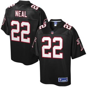 Men's Atlanta Falcons Keanu Neal NFL Pro Line Black Alternate Player Jersey